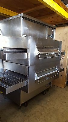 Used Ps360-2 Middleby Marshall Dbl Deck Gas Conveyor Oven Includes Free Shipping