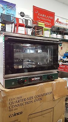 New Eco-250 Winco Countertop Convection Oven With Free Shipping