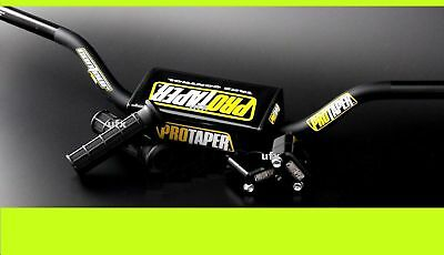 banshee handlebars clamps protaper contour mid clamps black grips pro taper