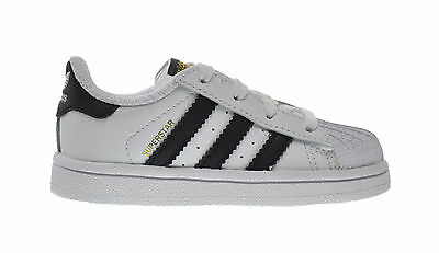 reputable site db17d 33fd2 Adidas Superstar I Baby Toddlers Shoes Running White Collegiate Black c77913