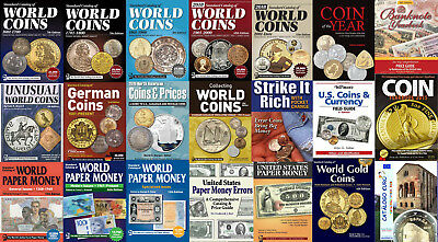 KRAUSE Standard World Catalogs 2018 . 21 catalogs of coins and banknotes on DVD