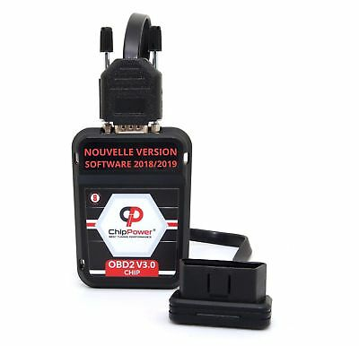 OBD2 Boitier Additionnel Hummer H2 SUT 6.0 322CV Essence Chip Tuning Box Ver.3