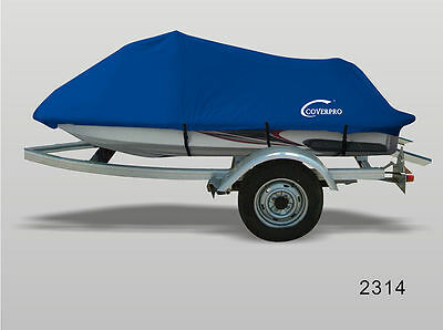 PWC Jet ski cover-Blue Fits Yamaha Wave Runner VX110 Deluxe 2005-2010