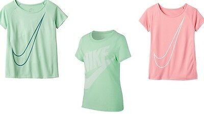 NWT Nike Girls Tee Shirt Short Sleeves Size Youth S M L XL