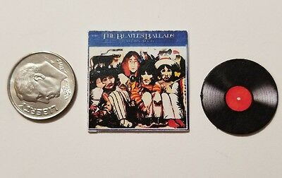 "Dollhouse Miniature Record Album 1/"" 1//12 scale Barbie Tom Petty Heartbreakers B"