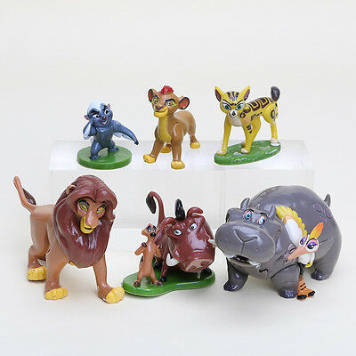 The King Lion Il Re Leone Simba Timon And Pumbaa Toy Action Figure 3-7Cm 1-3Inch