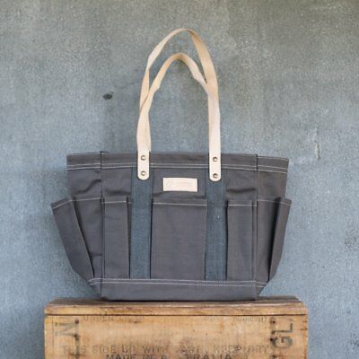 Stephanie Alexander Waxed Canvas Tote Bag