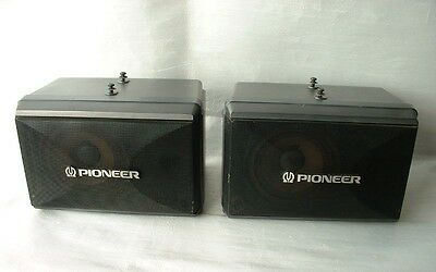 Coppia Casse Acustiche Pioneer 150 W  Video Laser Jukebox -No  Jamma