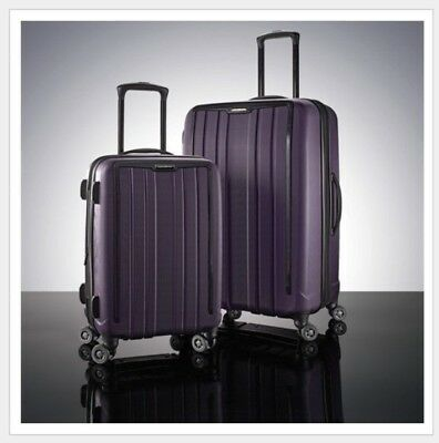 "Samsonite ExoFrame 2Pc Luggage Spinner 28"" Suitcase 20"" Carry-on Bag Hardcase"