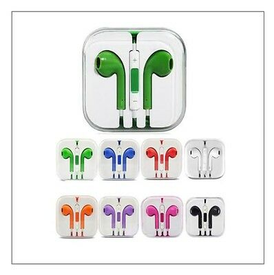 Dozen Wholesale Colorful Headphones/Earphones, Apple iPhone and Android phones.