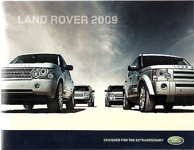 Brochure: Land Rover 2009