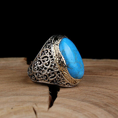 Islamic Rings, Man Rings, Made of 925 Sterling Silver