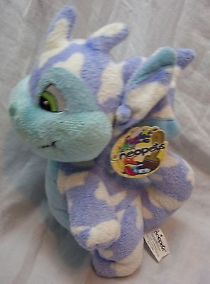 "Neopets BLUE & WHITE CLOUD SCORCHIO 7"" Plush STUFFED ANIMAL Toy 2004"