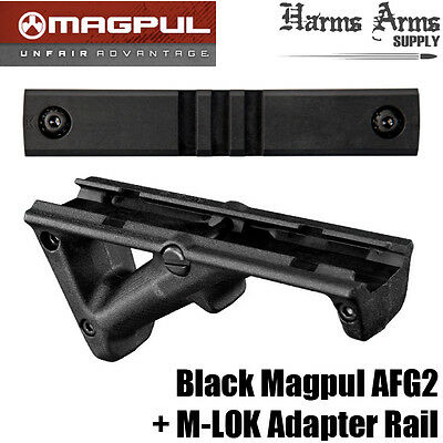 Magpul AFG2 with M-LOK Adapter - Black - Genuine - AFG-2 MLOK MAG414-BLK MAG594