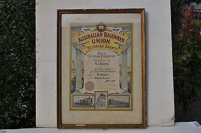 V.R. Officers Union Certificate