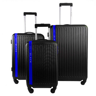 3pc Luggage Suitcase Trolley Set TSA Travel Carry On Bag Hard Case Lightweight