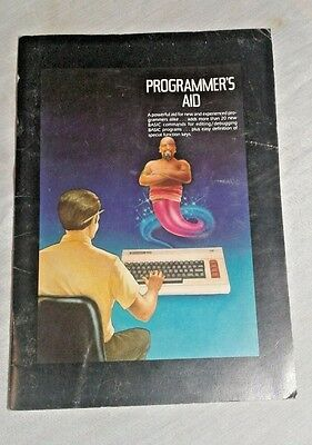Commodore Computer Programmer's Aid - for new and professional programmers BASIC