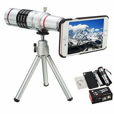 Phone Camera Objective 18X Optical Lens Case Aluminum Tripod Comfortable Trend