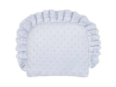 Minky Cotton Soft Cushion For Baby Blue