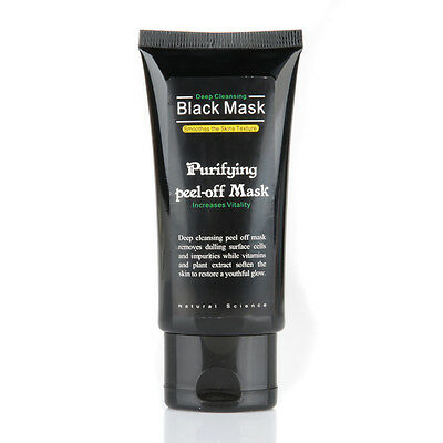 Masque Charbon Points Noir Anti Acné Black Mask Soin Visage Peeling