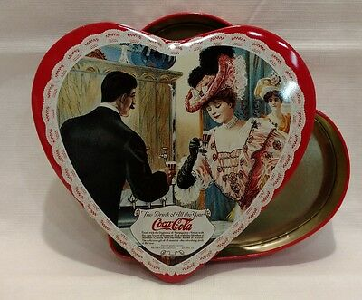 Coca Cola Heart Shaped Tin