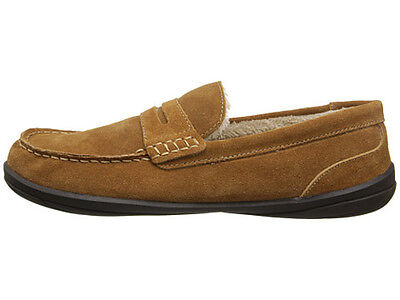 Hush Puppies Cottonwood Men Suede Slippers HP8011-551 Loafers Natural Size 9 New