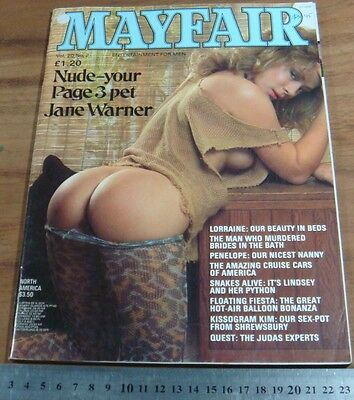 1985.MAYFAIR Men's Magazine.Vol.20.No.2..Girl.Nude.Glamour.Vintage