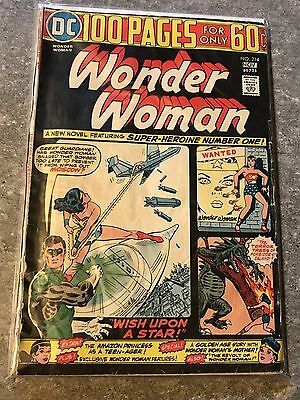 Wonder Woman #214 (Oct-Nov 1974, DC) 60 Cents Comics Books *Free Shipping*