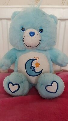 "Care Bears 14"" Plush Bedtime Bear Soft Toy 2003 • £8.99 ..."