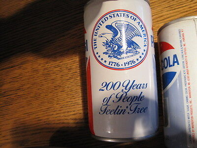 Pepsi Cans (2) 1976 Commemorative 200 Years of People Feeling Free