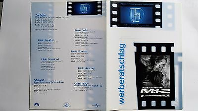 German Showman's Manual - M:I -2 Tom Cruise  #54 Mission Impossible 2