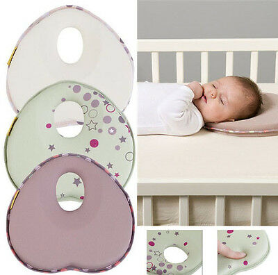 Baby Pillow infant Shape Toddler Sleep Anti Roll Positioner flat Support Head