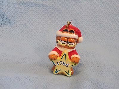 ENESCO GARFIELD CAT   CHRISTMAS ORNAMENT  exclusive for 1986