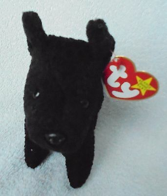 463bc071493 Ty Beanie Baby Babies~SCOTTIE the Terrier Black DOG ~ SAVE BIG Comb SHIP