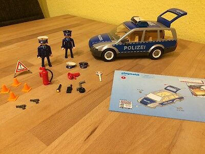 polizeiauto von playmobil 4259 eur 12 50 picclick de. Black Bedroom Furniture Sets. Home Design Ideas