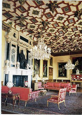 Uncirculated Postcard  King James Drawing Room Hatfield House Hatfield England