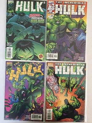 Marvel Vel Comics The Incredible Hulk Vol 1 1999 Series Issues 11-19 Vgc