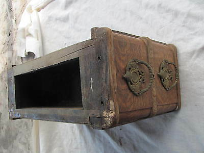 Davis Treadle Sewing Machine Drawers with Frame and Ornate Pulls