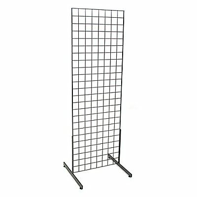 Gridwall Panels Wire Grid Wall Panel Rack Tall Merchandise Display Flea Market