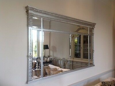 Regency Style Superking Overbed Mirror - Discounted Price!