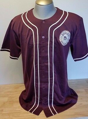 Kilkenny Irish Beer Baseball Jersey Shirt Button Short Sleeve New With Tags Size