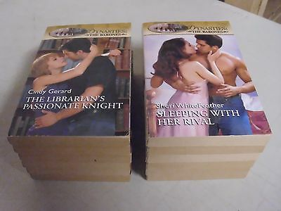 Lot Of 12 Silhouette Dynasties The Barones Paperback Romance Novels Books