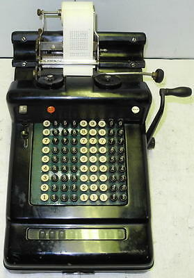 Antique Burroughs Adding Machine - Circa 1925