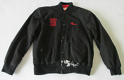 Vintage 80s TV Show A Different World Hillman College Emblem Bomber Jacket Karen