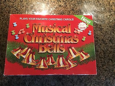 Musical Christmas Bells Capricorn Electronics 1990 9 Bells Plays Carols