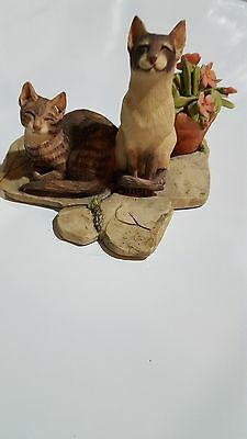 """Sunshine"" Cat Figurine from Thames and Hudson, Vintage, Zoe Stokes"