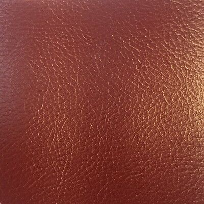 "*5 METRES* Marine Automotive Commercial Furniture PVC VINYL FABRIC ""BURGUNDY"""