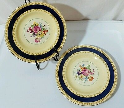 Antique WOOD & SONS SHERBORNE Bread Butter Plate Lot of 2 c1907+