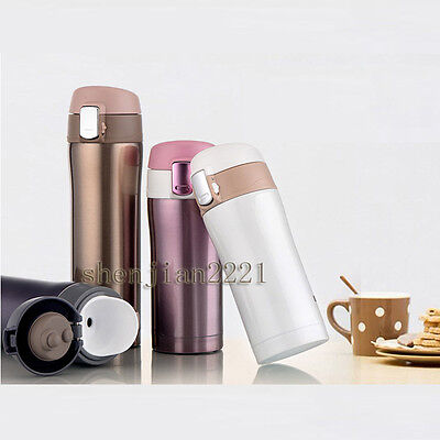 6 Colors Stainless Steel Vacuum Thermos Insulated Flask Mug Travel Cup 350/500ML