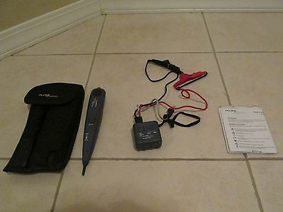 Fluke Networks Pro 3000 Analog Tone Generator & Probe Kit w/ Holster